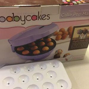 Other - Babycakes cake pop maker